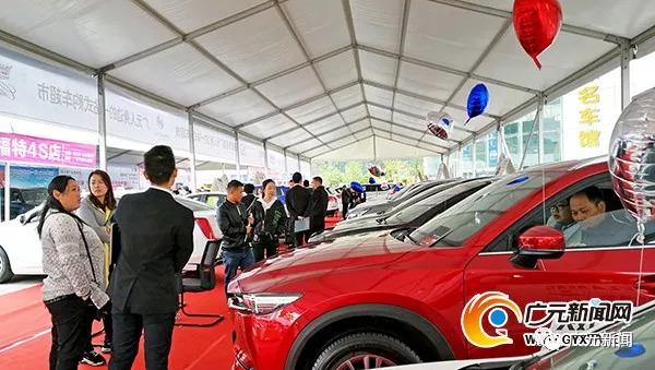 建行2018广元第13届春季汽车展开幕