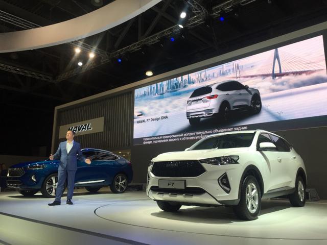 F7闪耀莫斯科车展 哈弗品牌国际化战略提速