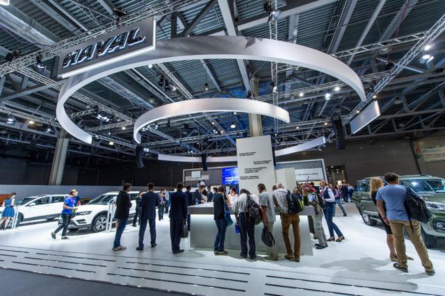 哈弗F7闪耀莫斯科车展 加速品牌国际化战略