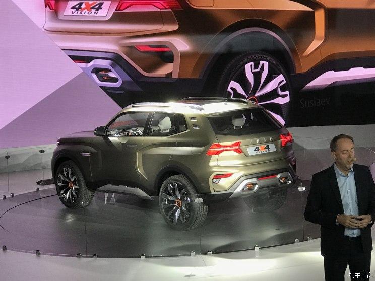 拉达4X4 VISION概念车
