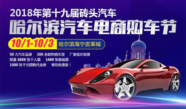 2018年第十九届砖头汽车哈尔滨汽车电商购车节