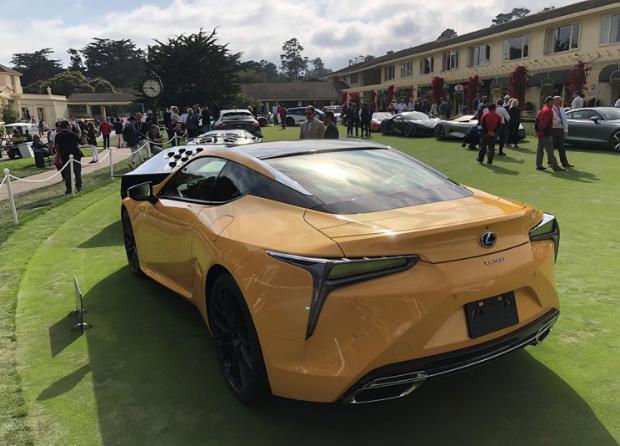 2018圆石滩车展回顾:不容错过的稀有豪车