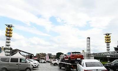 2018牡丹江夏季汽車博覽會今江濱公園啟幕