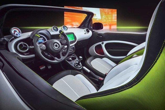 Smart ForEase纯电动概念车