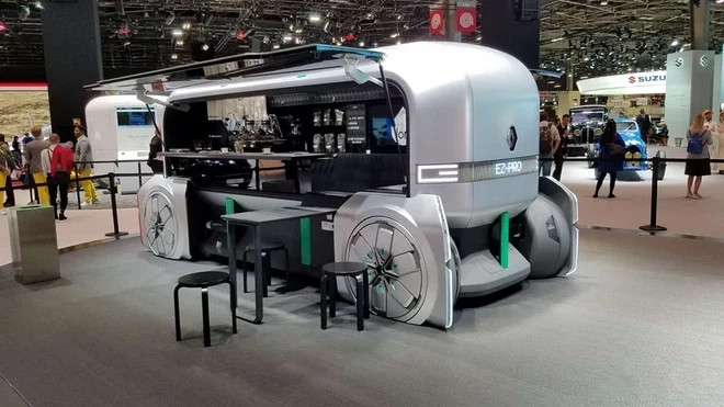 雷诺EZ-Pro电动概念车