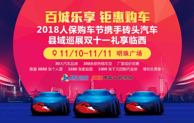 2018人保购车节砖头汽车县域巡展双十一临西站