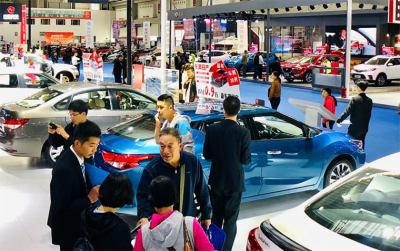 2018青岛国际车展人流与交易量持续攀升