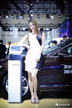郑州国际车展最强美女模特高清大图!