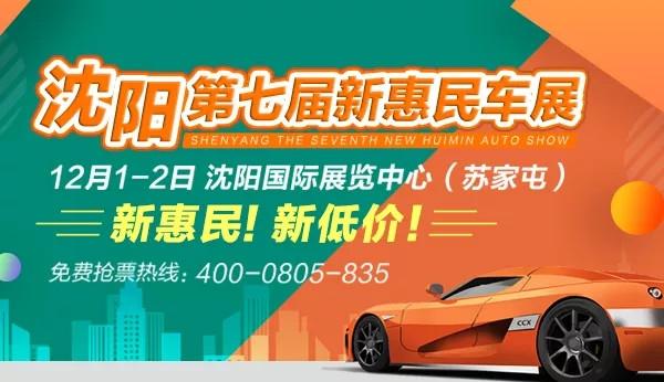 2018年沈阳第七届新惠民车展