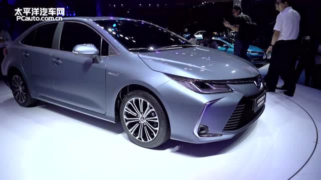 2018广州车展:一汽丰田卡罗拉双擎