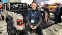 2018洛杉矶车展:Jeep Gladiator正式亮相牧马人皮卡版