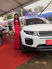 第八屆西雙版納廣電惠民車展開幕,你想看的美女車模來了