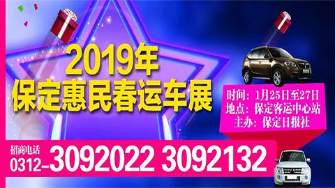 2019年保定惠民春运车展