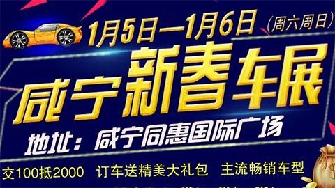 2019咸宁新春车展