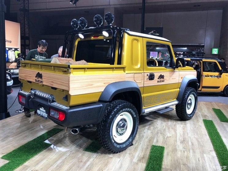 2019东京改装车展:吉姆尼两款概念车