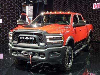 2019北美车展:道奇新款RAM 2500亮相
