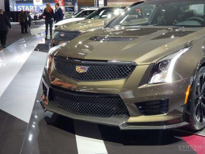 2019北美车展:新款凯迪拉克ATS-V亮相