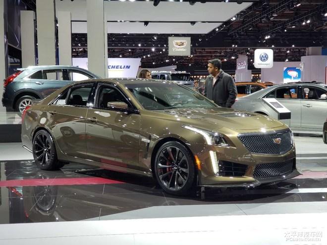 2019北美车展:新款凯迪拉克CTS-V亮相