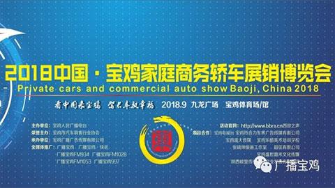 2018中国·宝鸡家庭商务轿车展销博览会
