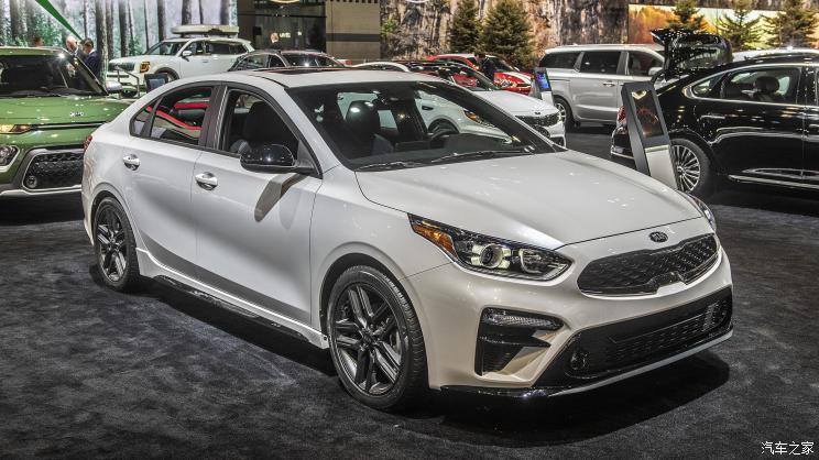 2019芝加哥车展:起亚新Forte GT-Line