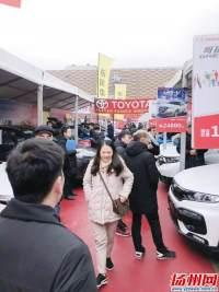 扬州春季车博会昨进入第二天 现场成交近500辆