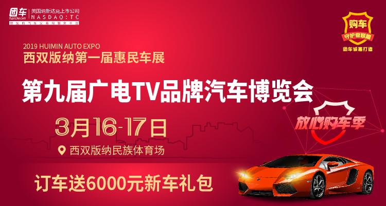 2019西雙版納第九屆廣電TV品牌汽車博覽會