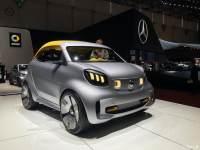 2019日内瓦车展:smart forease+概念车
