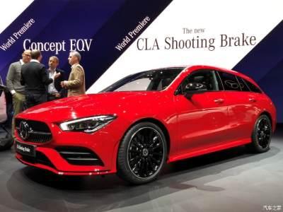 2019日内瓦车展:奔驰新CLA Shooting Brake