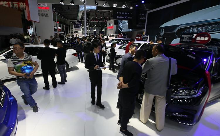 第二届中国(宁夏)国际车展开幕