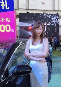 2019桂林五一車展靚麗車模  不容錯過
