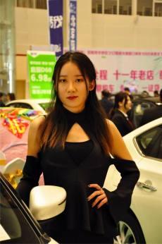 2019信阳国际车展开幕,还有车模哟