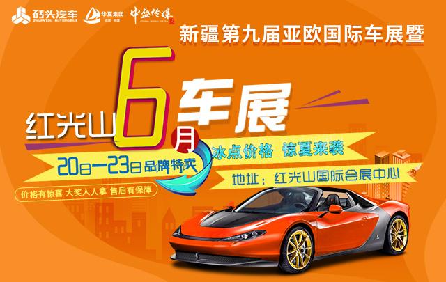 2019新疆第九届亚欧国际车展暨红光山6月车展