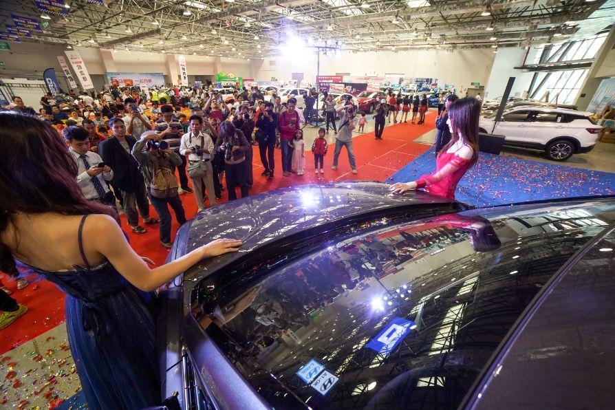 梧州日报社五一车展让利幅度大 买车更实惠