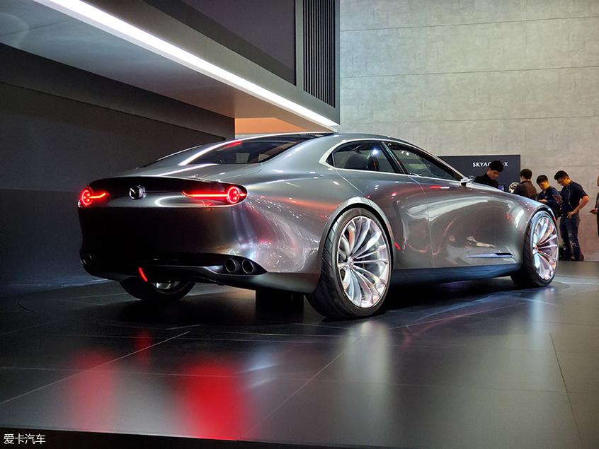 马自达Vision Coupe概念车