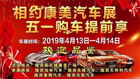 2019陇西文峰康美车展