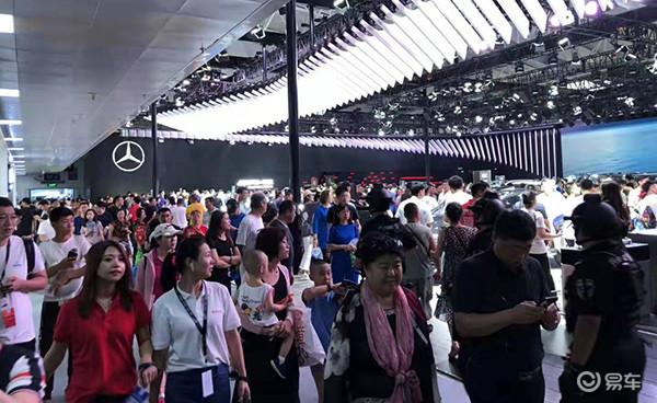 长春汽博会人气旺 三天超过20万人观展