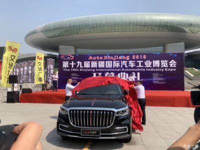 看豪车逛展会 第十九届新疆国际车展昨日盛大开幕
