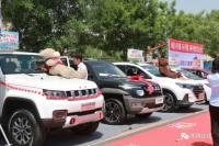 忻州市广播电视台交通广播2019年大型车展在云中商贸举行