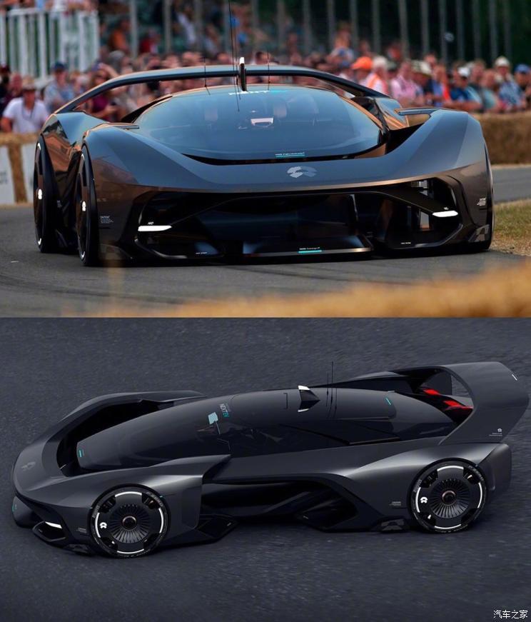 蔚来NIO Vision GT概念车假想图