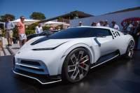 2019圆石滩车展:布加迪Centodieci发布