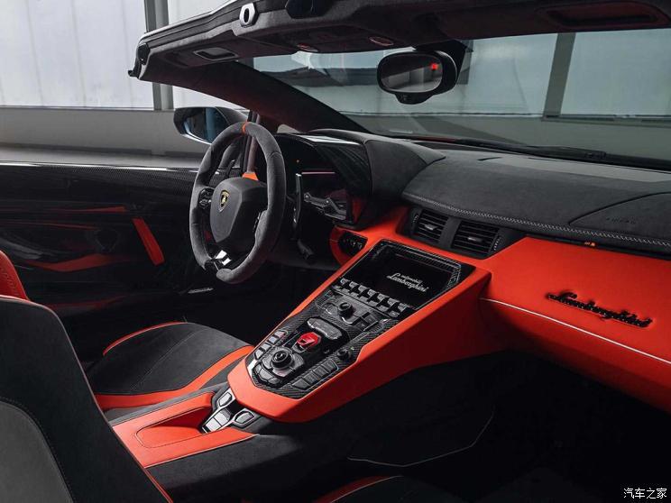 兰博基尼 Aventador 2019款 Aventador SVJ 63 Roadster