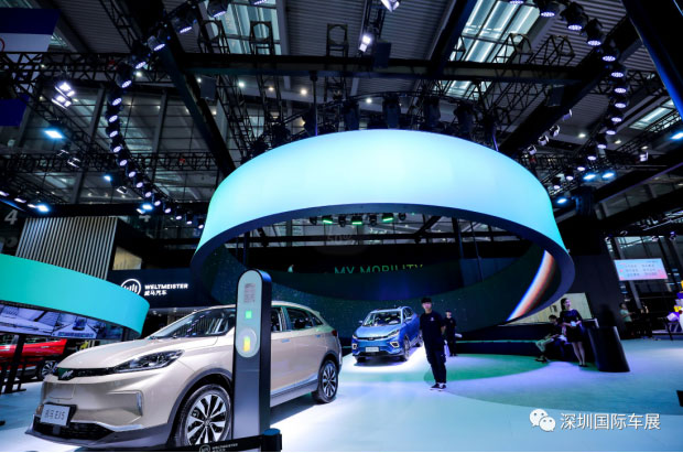 """这个十一,与深圳国际车展来一场""""潮流""""约会"""