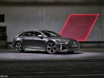 全新一代奥迪RS6 Avant官图发布 法兰克福车展公开亮相