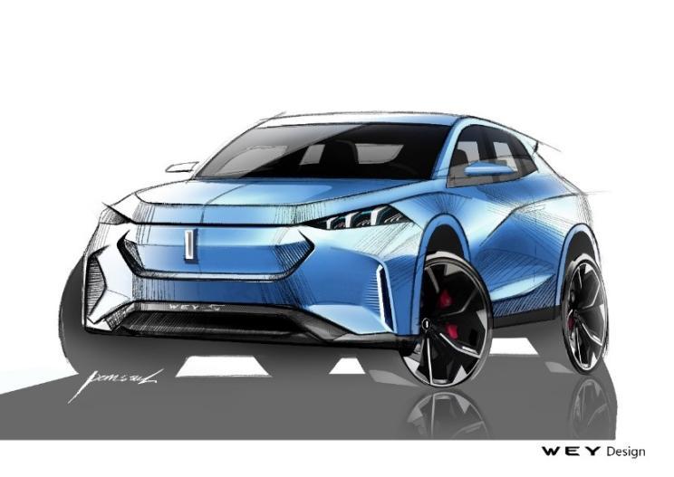WEY-S概念车将于2019法兰克福车展发布