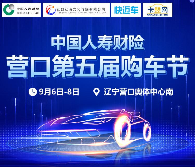 2019中国人寿财险(营口地区)第五届车展