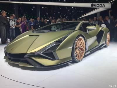 2019法兰克福车展:兰博基尼Sián发布