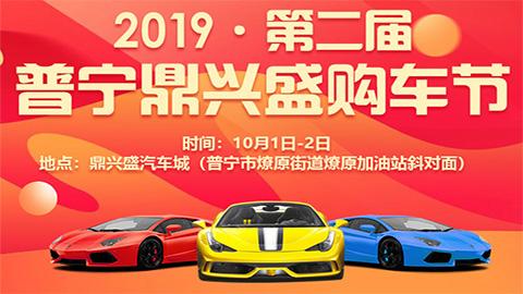 2019第二届普宁鼎兴盛购车节(十一车展)