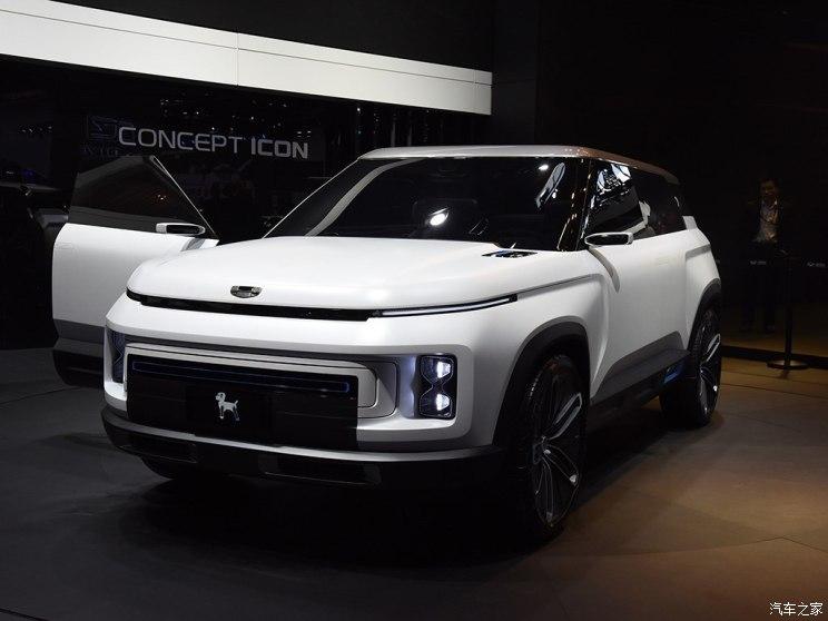 吉利汽车 CONCEPT ICON 2018款 基本型