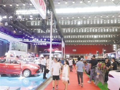 江门车展经历17年发展 对汽车零售总额贡献达5%