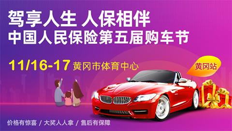 2019中国人民保险第五届购车节黄冈站